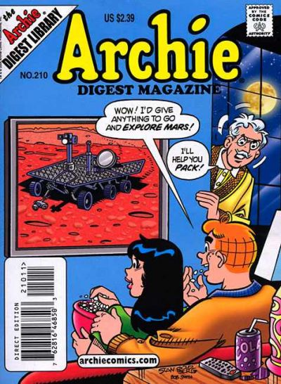 Cover for Archie Comics Digest (Archie, 1973 series) #210