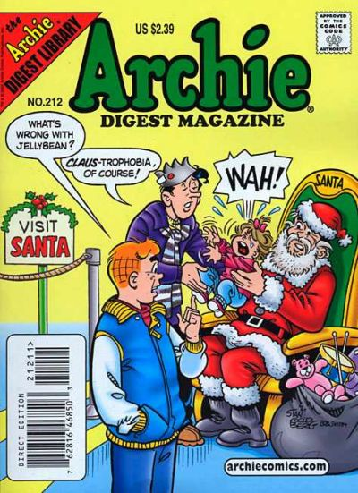 Cover for Archie Comics Digest (Archie, 1973 series) #212 [Newsstand]