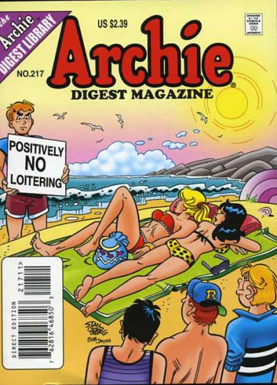 Cover for Archie Comics Digest (Archie, 1973 series) #217