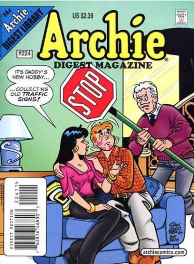 Cover for Archie Comics Digest (Archie, 1973 series) #224