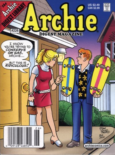 Cover for Archie Comics Digest (Archie, 1973 series) #226