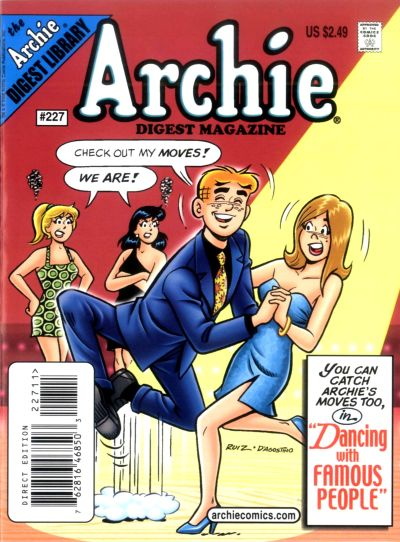Cover for Archie Comics Digest (Archie, 1973 series) #227