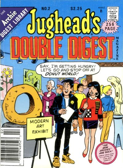 Cover for Jughead's Double Digest (Archie, 1989 series) #2 [Newsstand]