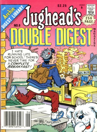 Cover for Jughead's Double Digest (Archie, 1989 series) #6 [Newsstand]
