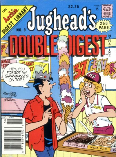 Cover for Jughead's Double Digest (Archie, 1989 series) #9