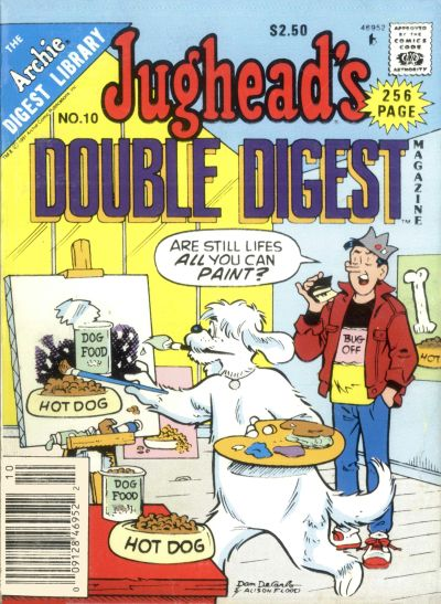 Cover for Jughead's Double Digest (Archie, 1989 series) #10