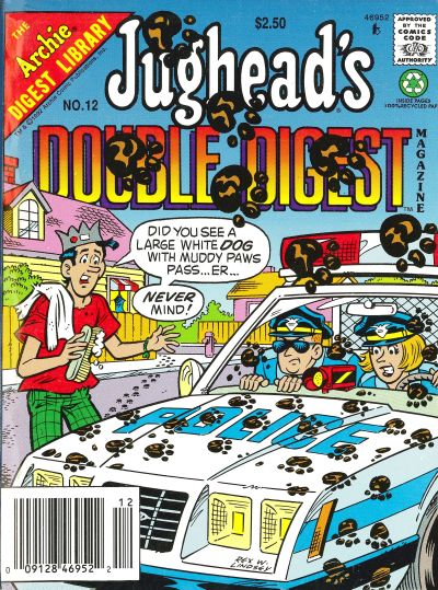Cover for Jughead's Double Digest (Archie, 1989 series) #12