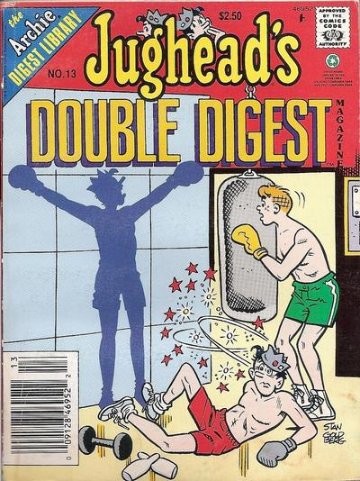 Cover for Jughead's Double Digest (Archie, 1989 series) #13