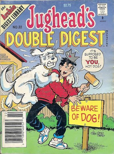 Cover for Jughead's Double Digest (Archie, 1989 series) #22