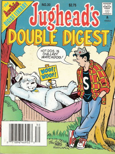 Cover for Jughead's Double Digest (Archie, 1989 series) #30