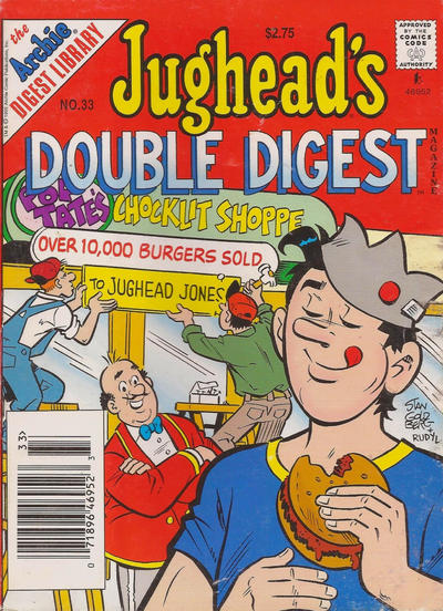 Cover for Jughead's Double Digest (Archie, 1989 series) #33