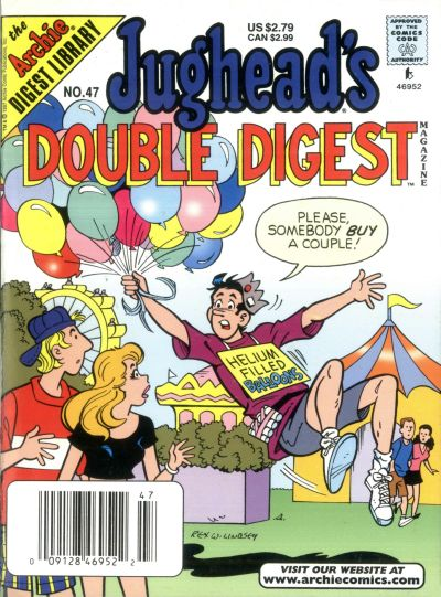 Cover for Jughead's Double Digest (Archie, 1989 series) #47
