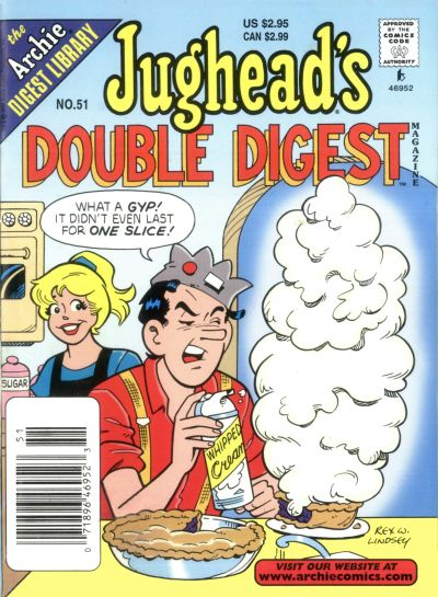 Cover for Jughead's Double Digest (Archie, 1989 series) #51