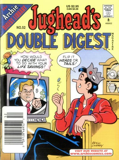 Cover for Jughead's Double Digest (Archie, 1989 series) #52