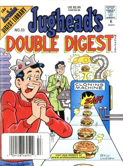 Cover for Jughead's Double Digest (Archie, 1989 series) #53
