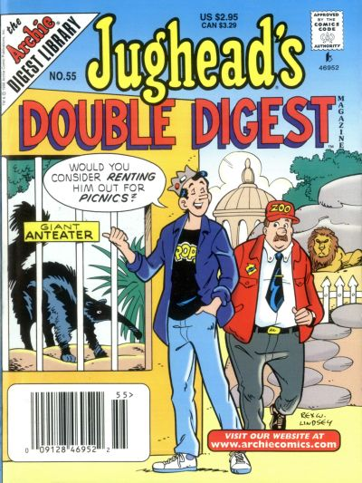 Cover for Jughead's Double Digest (Archie, 1989 series) #55