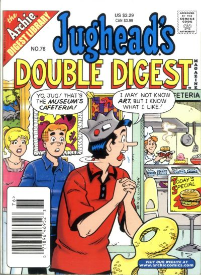 Cover for Jughead's Double Digest (Archie, 1989 series) #76