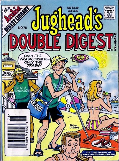Cover for Jughead's Double Digest (Archie, 1989 series) #78