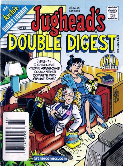 Cover for Jughead's Double Digest (Archie, 1989 series) #85