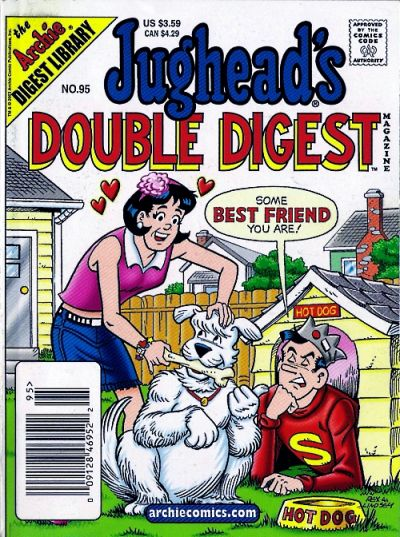 Cover for Jughead's Double Digest (Archie, 1989 series) #95