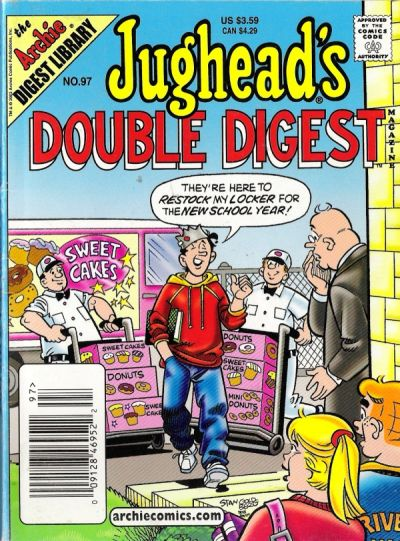 Cover for Jughead's Double Digest (Archie, 1989 series) #97