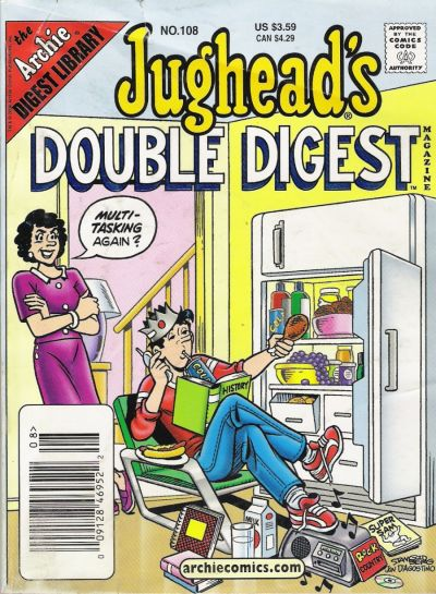 Cover for Jughead's Double Digest (Archie, 1989 series) #108