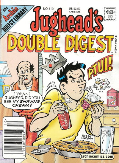 Cover for Jughead's Double Digest (Archie, 1989 series) #110