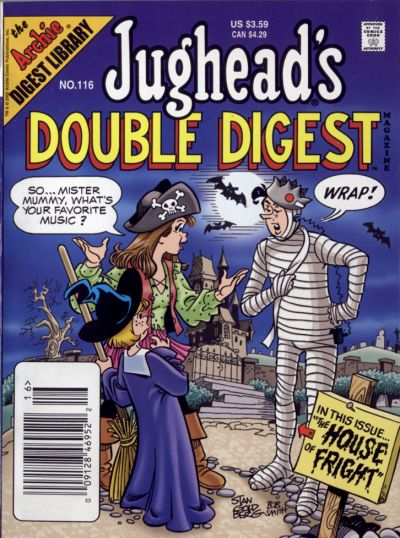 Cover for Jughead's Double Digest (Archie, 1989 series) #116