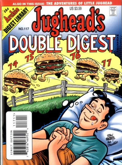 Cover for Jughead's Double Digest (Archie, 1989 series) #117