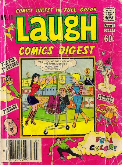Cover for Laugh Comics Digest (Archie, 1974 series) #11