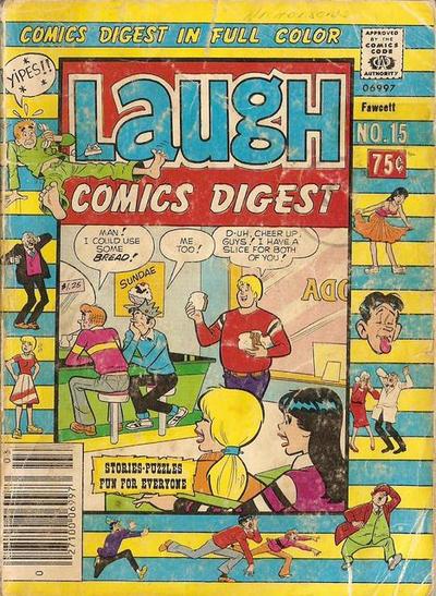 Cover for Laugh Comics Digest (Archie, 1974 series) #15