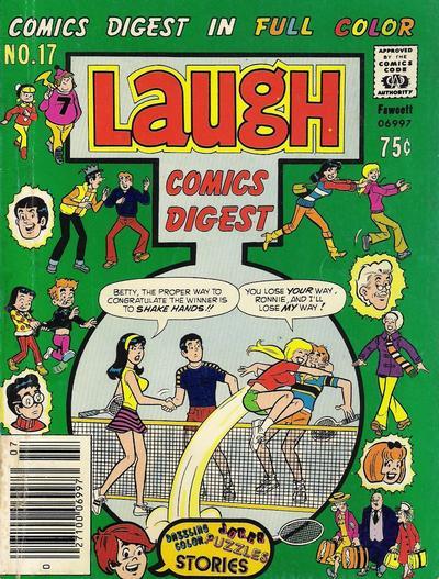 Cover for Laugh Comics Digest (Archie, 1974 series) #17