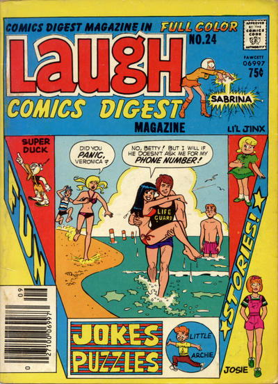 Cover for Laugh Comics Digest (Archie, 1974 series) #24