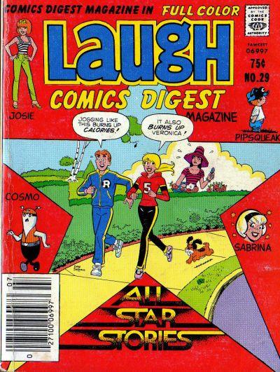 Cover for Laugh Comics Digest (Archie, 1974 series) #29