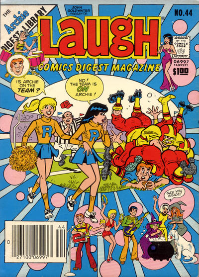 Cover for Laugh Comics Digest (Archie, 1974 series) #44