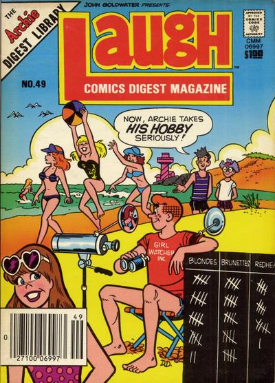 Cover for Laugh Comics Digest (Archie, 1974 series) #49