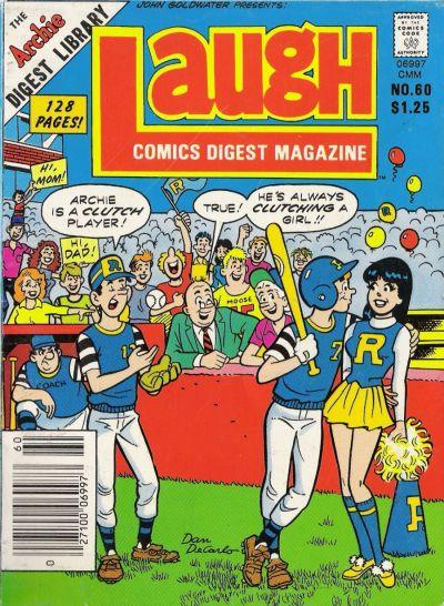 Cover for Laugh Comics Digest (Archie, 1974 series) #60