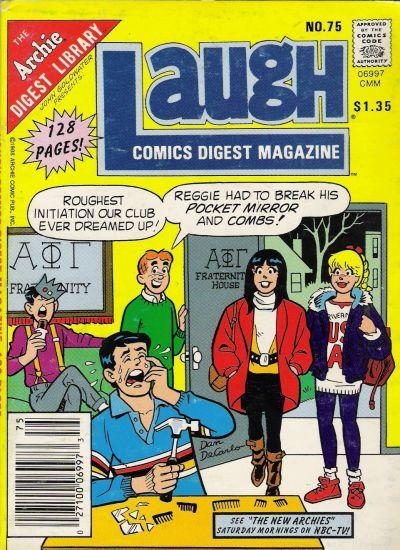Cover for Laugh Comics Digest (Archie, 1974 series) #75