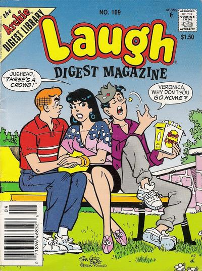 Cover for Laugh Comics Digest (Archie, 1974 series) #109