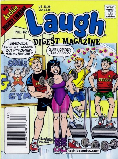 Cover for Laugh Comics Digest (Archie, 1974 series) #182