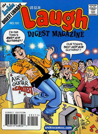 Cover for Laugh Comics Digest (Archie, 1974 series) #191