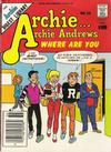 Cover for Archie... Archie Andrews Where Are You? Comics Digest Magazine (Archie, 1977 series) #36