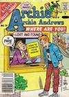 Cover for Archie... Archie Andrews Where Are You? Comics Digest Magazine (Archie, 1977 series) #70