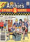 Cover for Archie's Story & Game Digest Magazine (Archie, 1986 series) #10 [Newsstand]