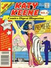 Cover for Katy Keene Comics Digest Magazine (Archie, 1987 series) #1 [Newsstand]