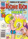 Cover for Richie Rich Digest Magazine (Harvey, 1986 series) #11 [Newsstand]