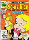 Cover for Richie Rich Digest Magazine (Harvey, 1986 series) #14