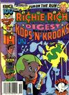 Cover for Richie Rich Digest Magazine (Harvey, 1986 series) #16
