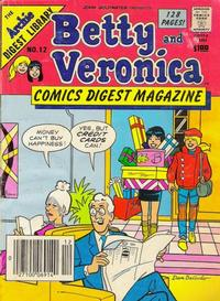 Cover Thumbnail for Betty and Veronica Comics Digest Magazine (Archie, 1983 series) #12