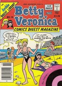 Cover for Betty and Veronica Comics Digest Magazine (Archie, 1983 series) #15